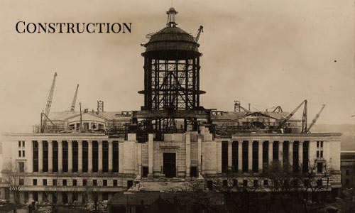 Capitol during construction