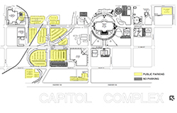 Capitol Area Parking Diagram